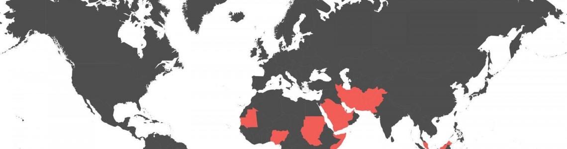 Kraje, w których apostazja jest karana śmiercią
