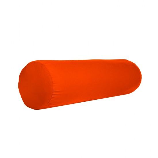 Bolster komfortowy pomarańczowy