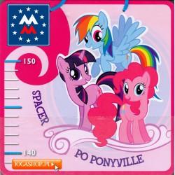 My Little Pony. Miarka wzrostu - Spacer po Ponyville