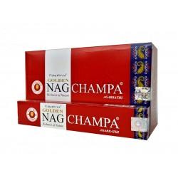 Kadzidło szczęścia - Golden Nag Champa 15g