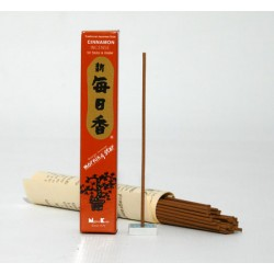 kadzidełka japońskie - korzenny zapach cynamonu