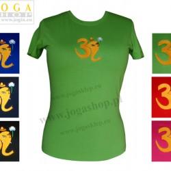 Damska Koszulka T-shirt haft z symbolem OM