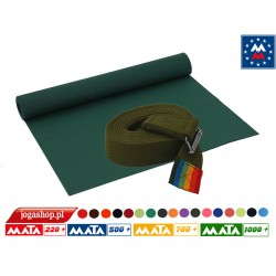 Vis Vitalis mata Extra 183 cm + extra pasek khaki 4 cm x 250 cm