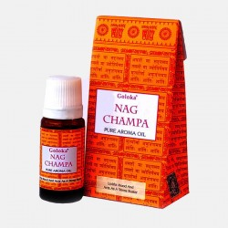 Nag Champa Goloka olejek zapachowy 10 ml