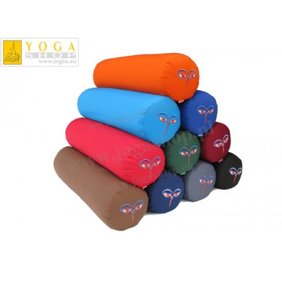 Wałki do jogi - standardowy bolster z haftem Czenrezig