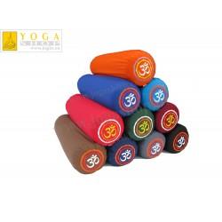 Wałki do jogi - komfortowy bolster z haftem  OM